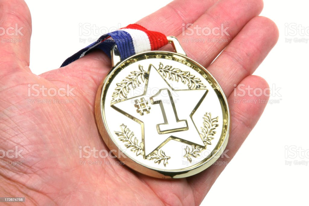 FIrst Prize! royalty-free stock photo