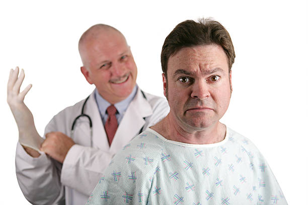 first prostate exam - prostate exam stock pictures, royalty-free photos & images