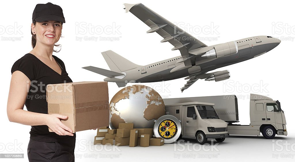 First rate transportation royalty-free stock photo