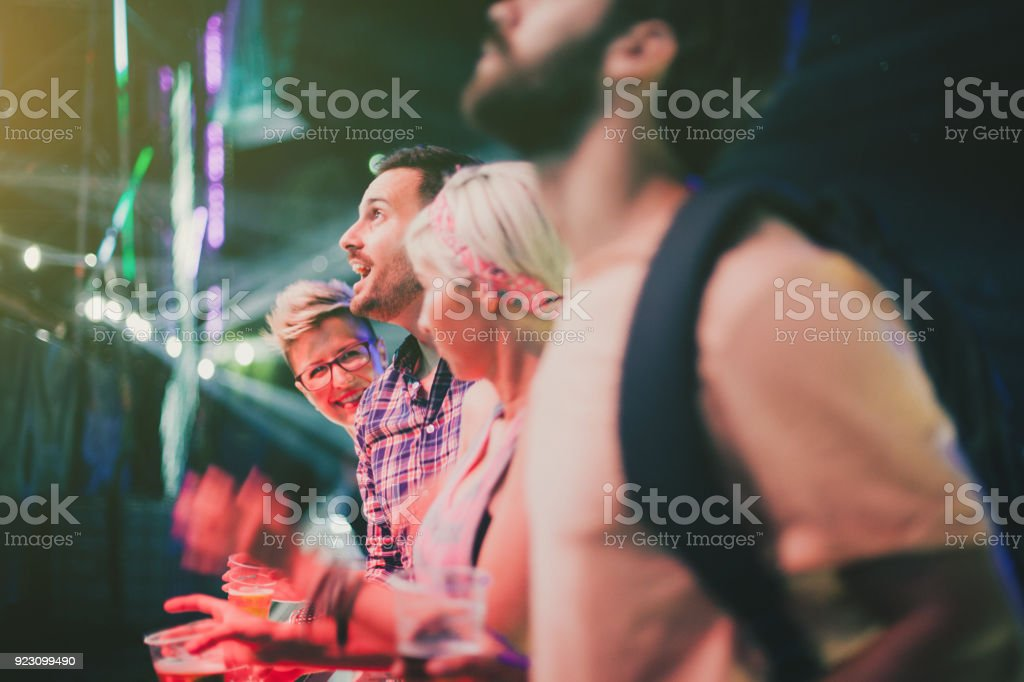 First row is always best position stock photo