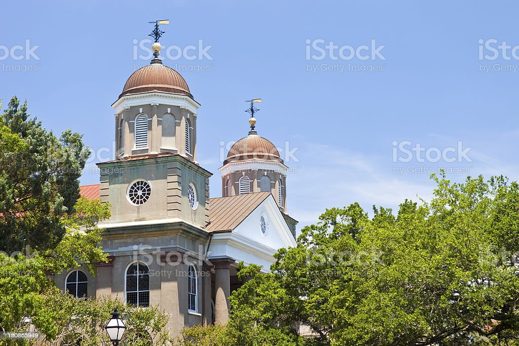 First Scots Presbyterian Church In Charleston, South Carolina stock photo