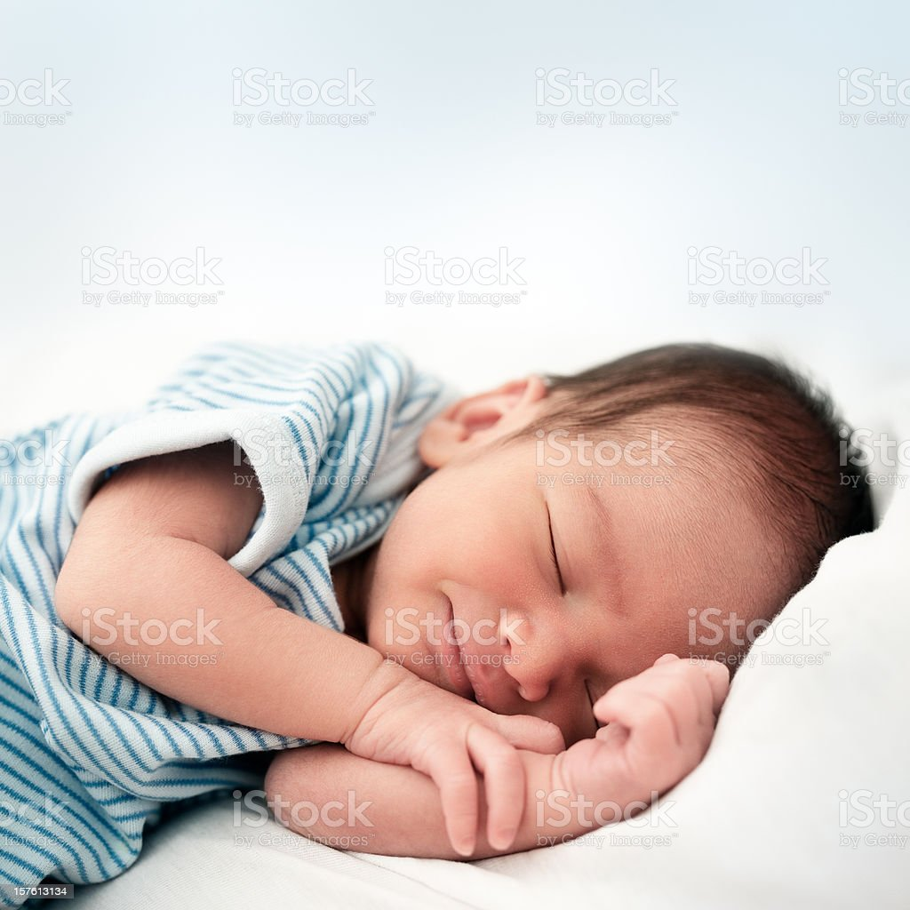 First Smile stock photo