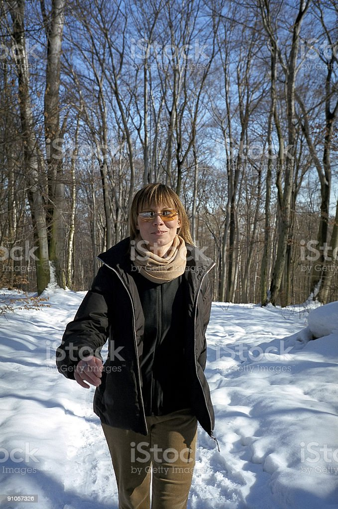 First step in Spring... royalty-free stock photo
