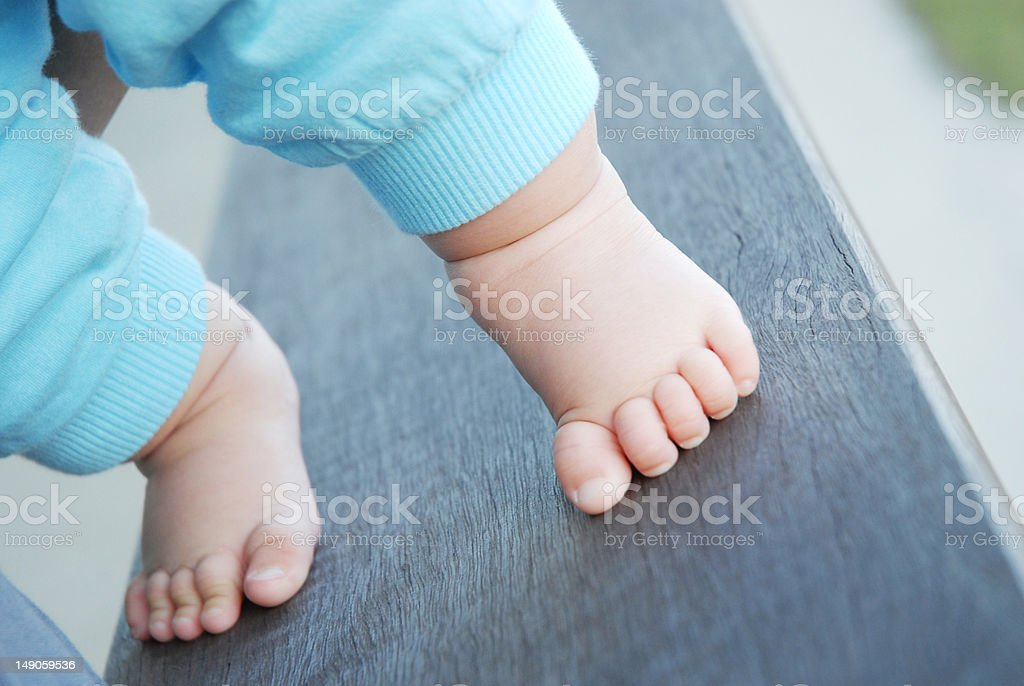 First Step stock photo