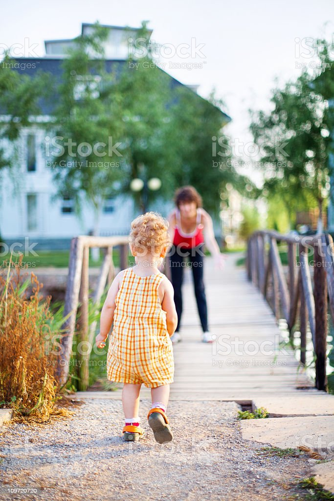 First Steps... royalty-free stock photo