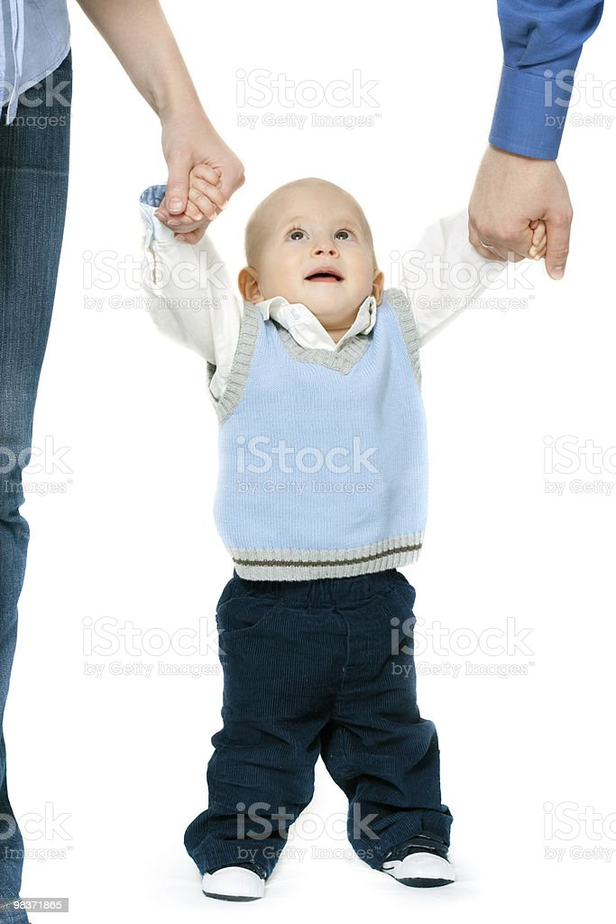 first steps royalty-free stock photo