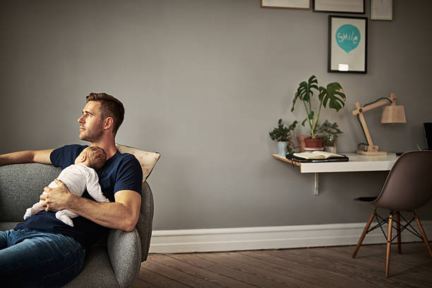First time being a father. What should I expect? - foto de stock
