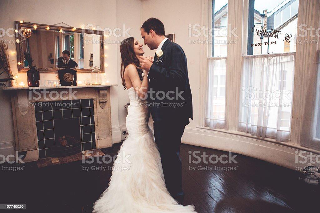 First Wedding Dance stock photo