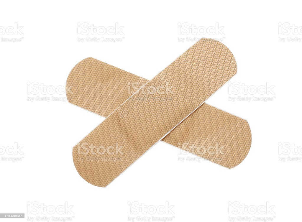 First-aid plaster stock photo
