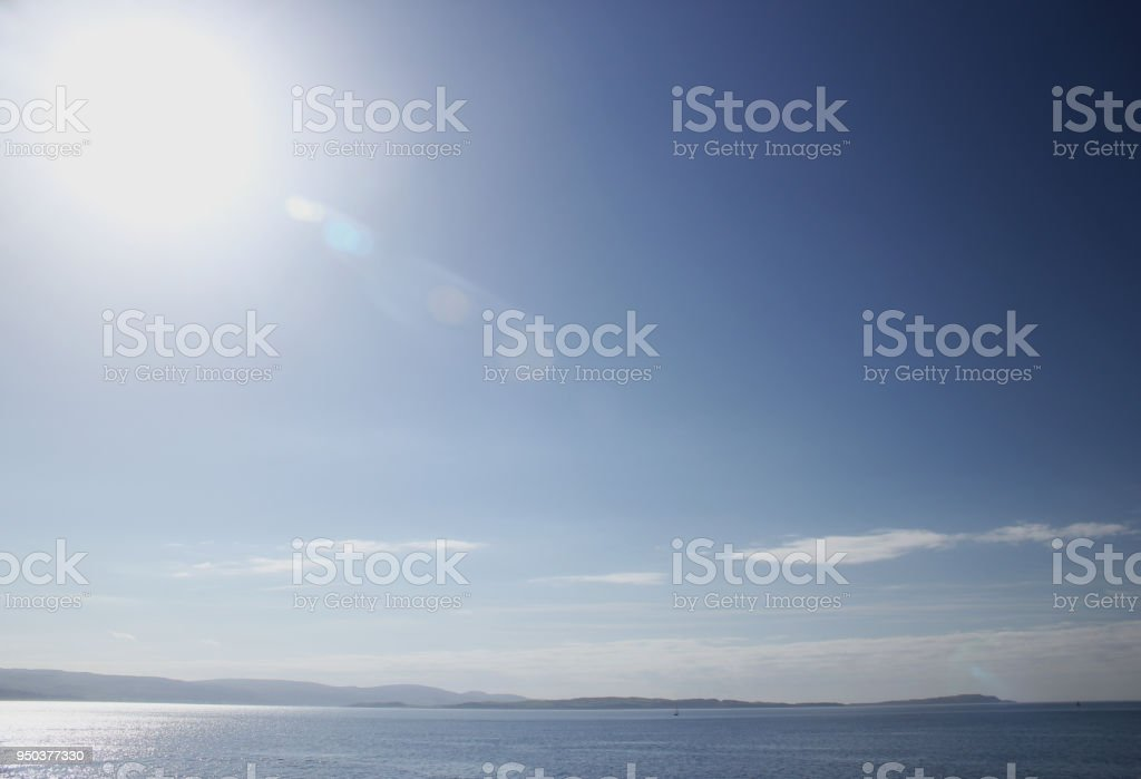 Firth of Clyde stock photo