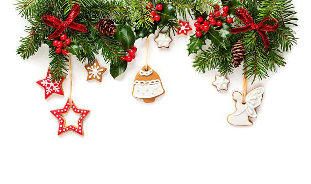 Dekoration für Weihnachten Firtree – Foto