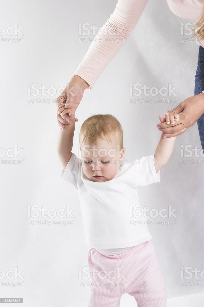 Firts Steps royalty-free stock photo