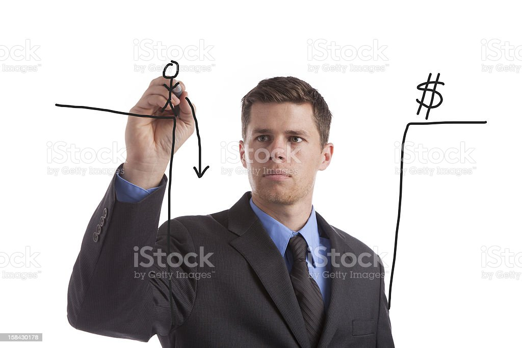 Fiscal Cliff stock photo