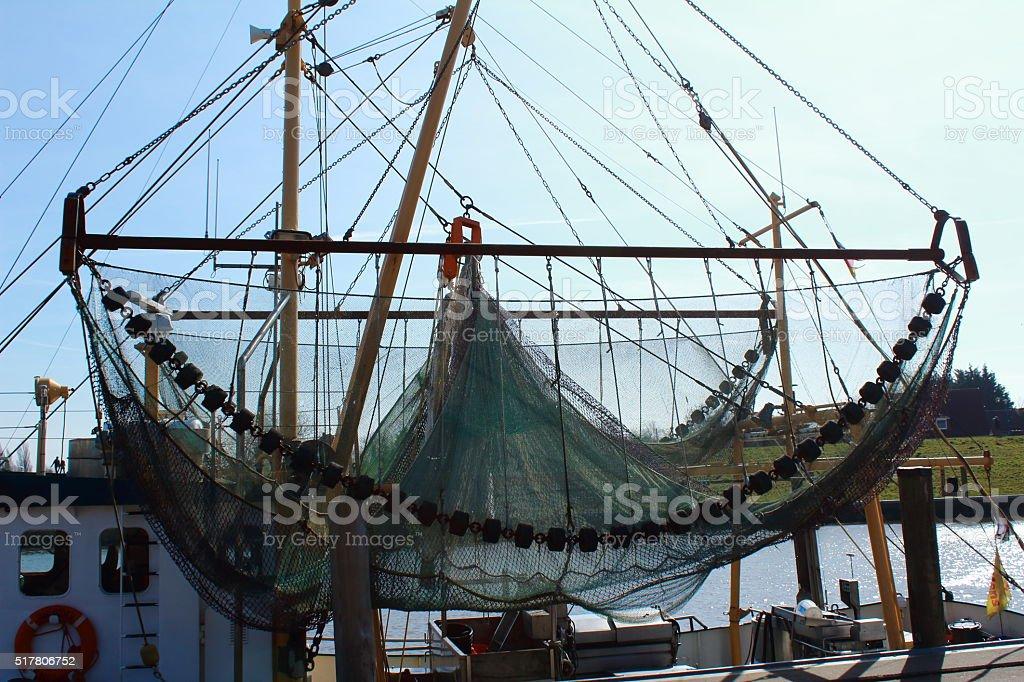 Fischernetz stock photo