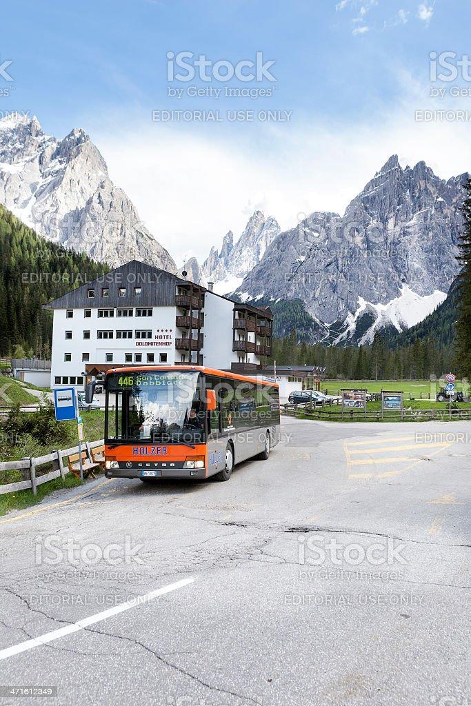 Fischleintal, Dolomites, Alto Adige royalty-free stock photo