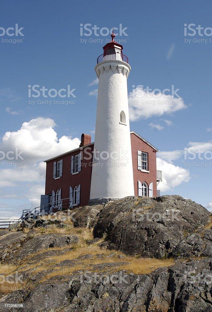 Fisgard Lighthouse Near Victoria Canada royalty-free stock photo