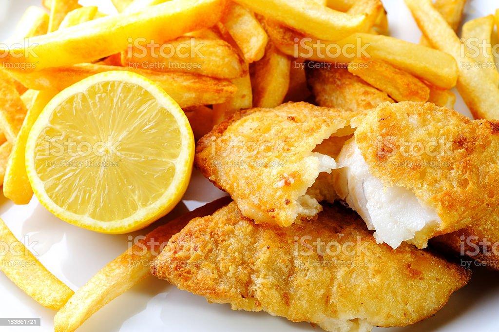 Fish and Chip - Royalty-free Akşam yemeği Stok görsel