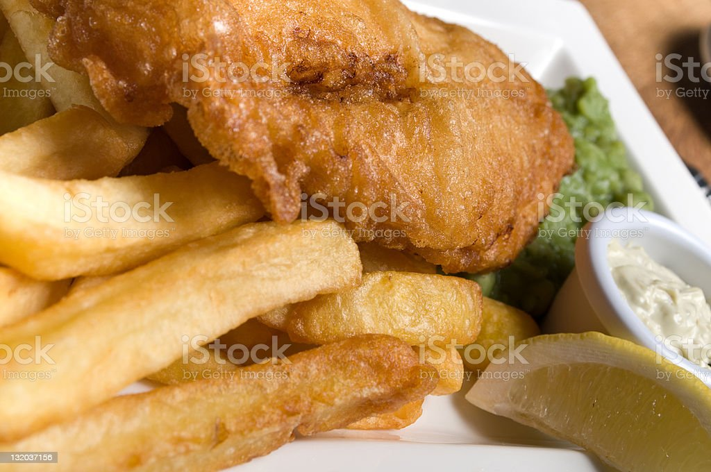 fish and chips royalty-free stock photo