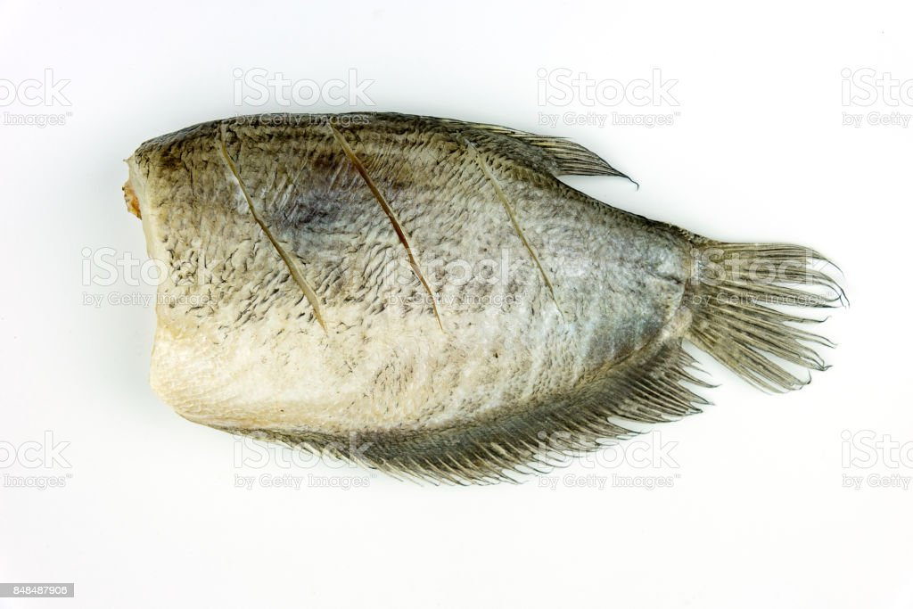 Fish are cleaned and trimmed head and ready to cook. stock photo