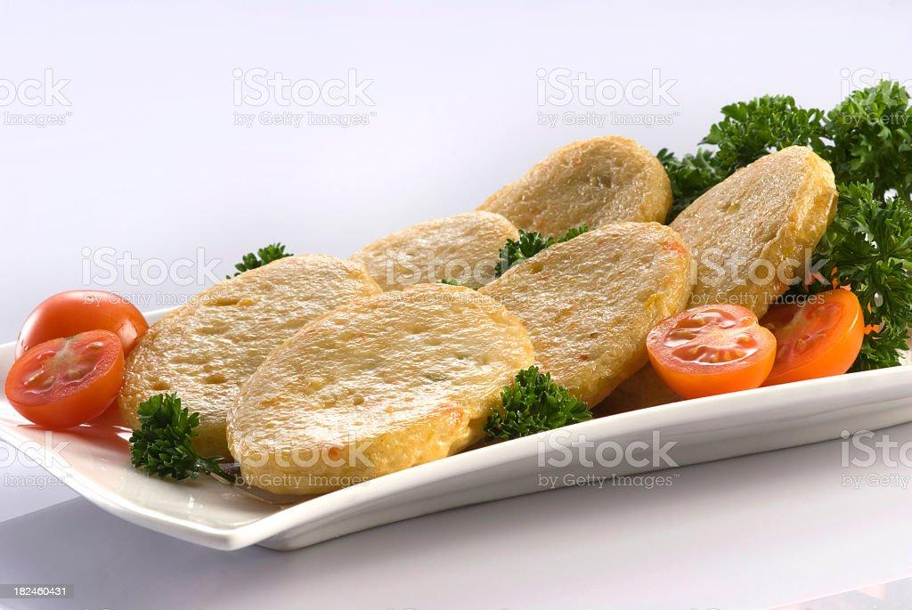 Pastel de pescado foto de stock libre de derechos