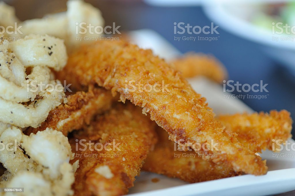Fish & chips royalty-free stock photo
