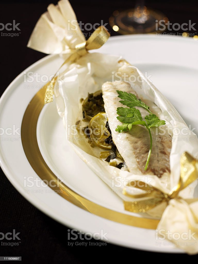 fish dish royalty-free stock photo