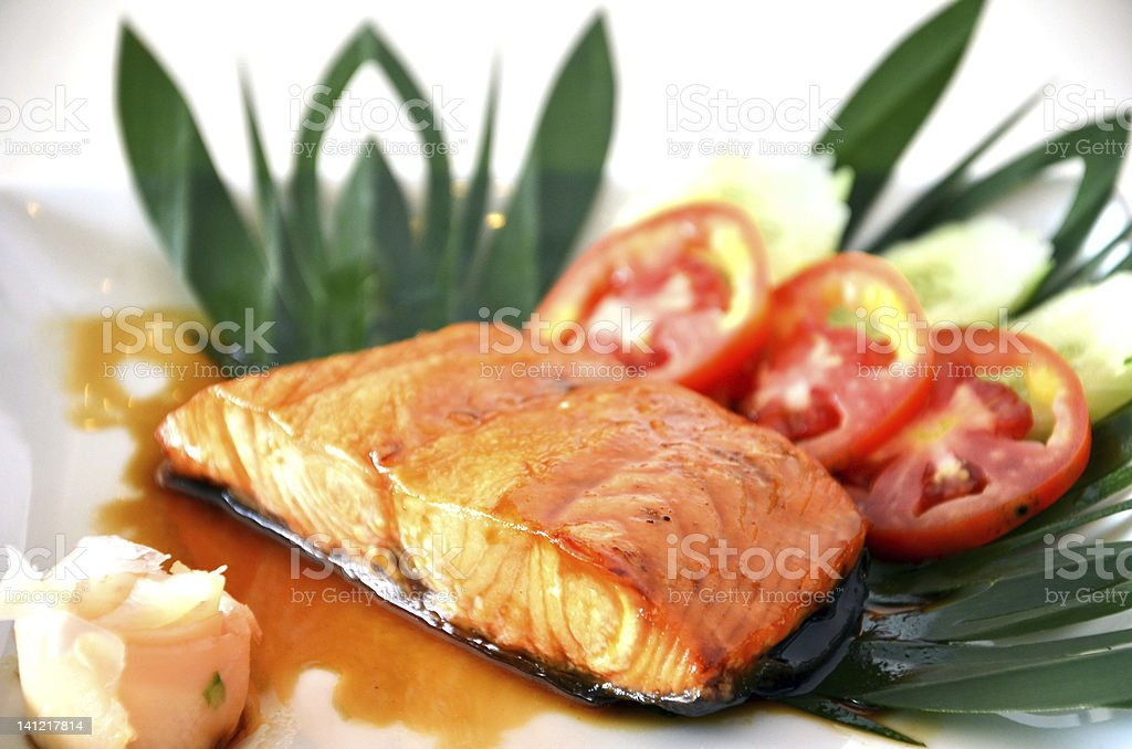 Fish dish royalty-free stock photo