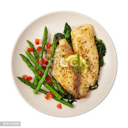 istock Fish dish 628420392