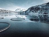 fish farm in Norway