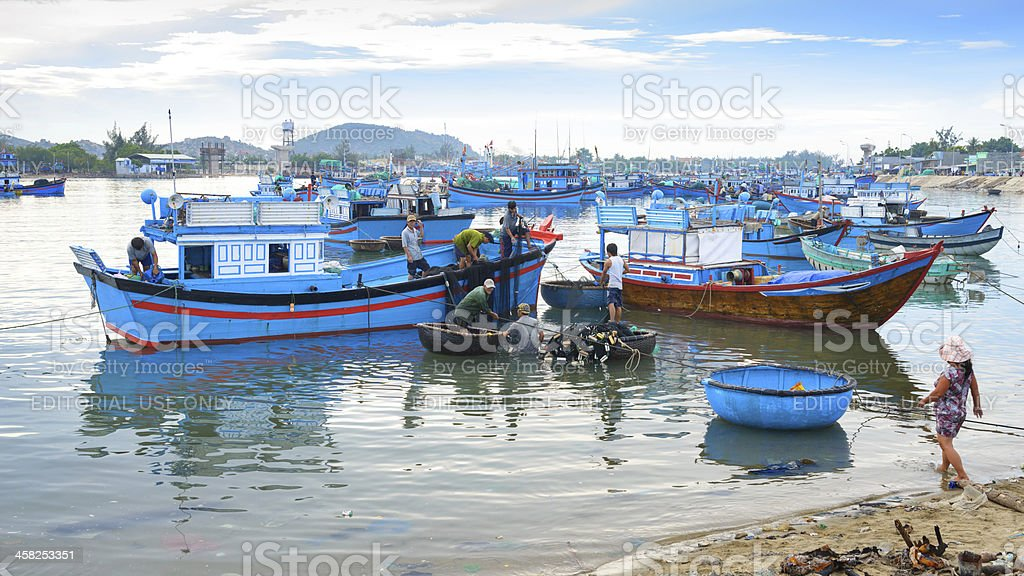 Fish Farming royalty-free stock photo