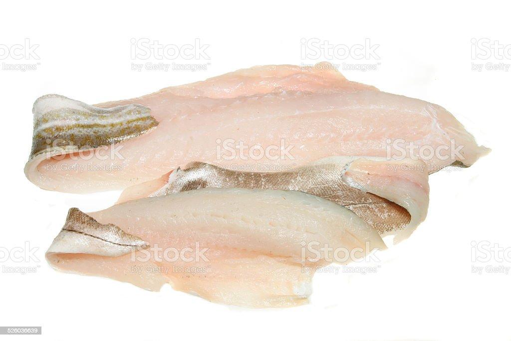 Fish fillets stock photo
