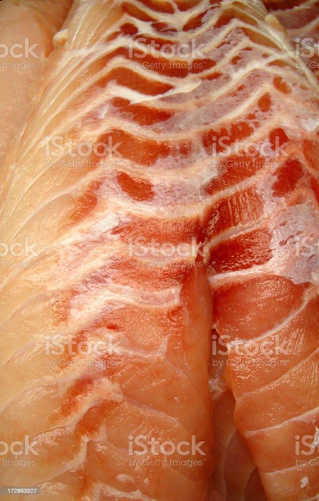 Fish Grouper Fillet Fresh royalty-free stock photo