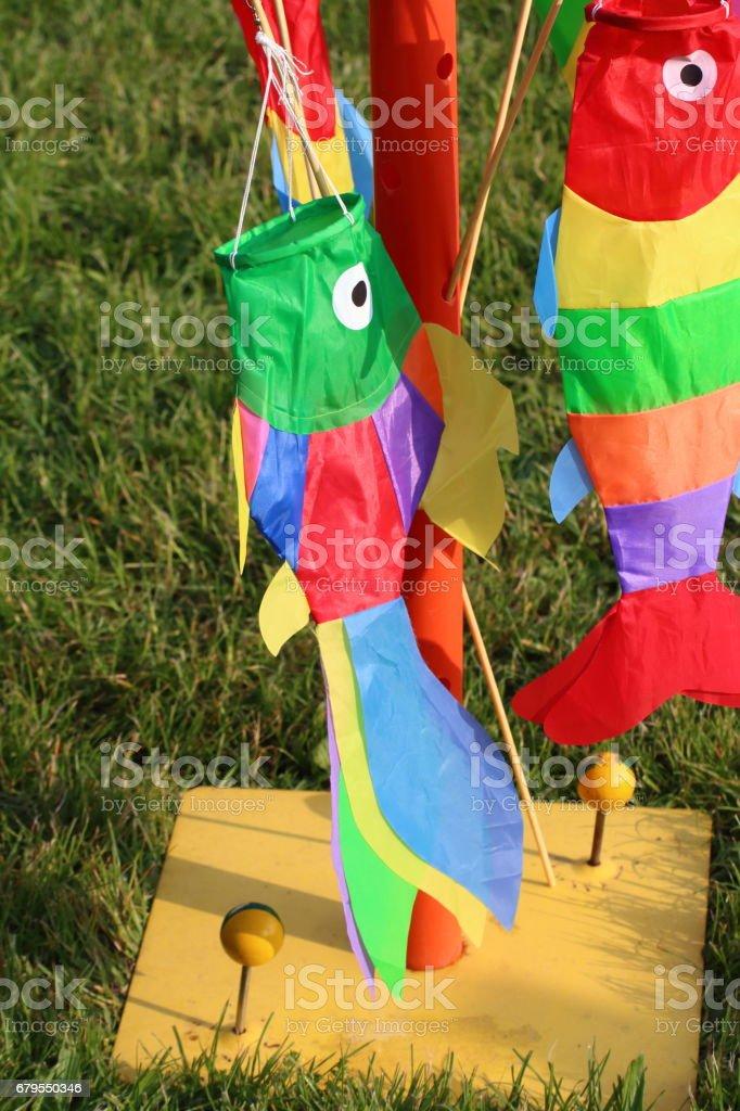 Fisch kite-banderole – Foto