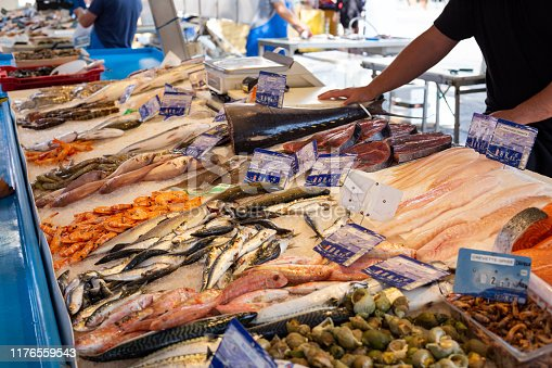 Fish Market, Sanary-sur-Mer, Provence