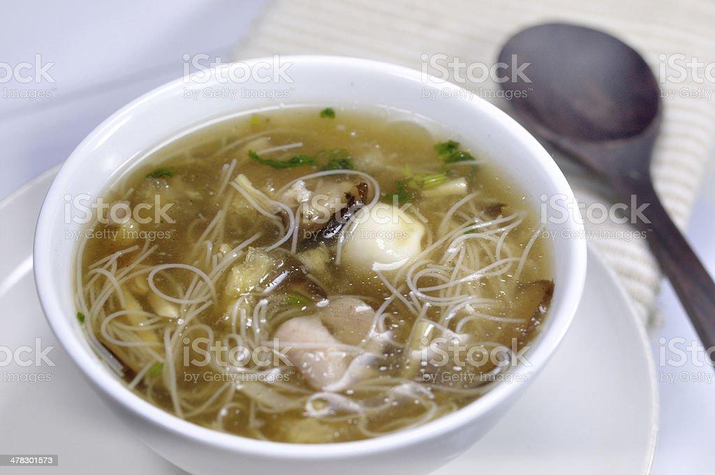 fish maw soup royalty-free stock photo