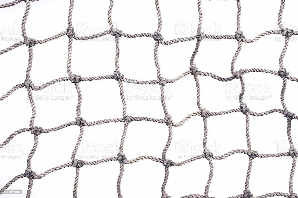 Fish net pattern stock photo