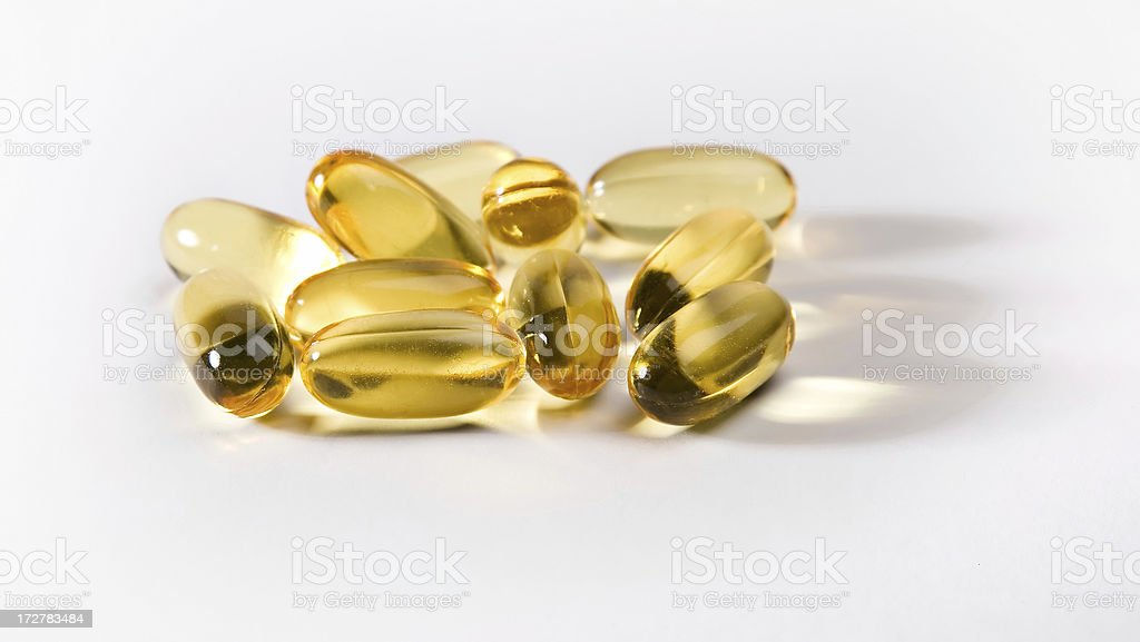 fish oil 4_filtered royalty-free stock photo