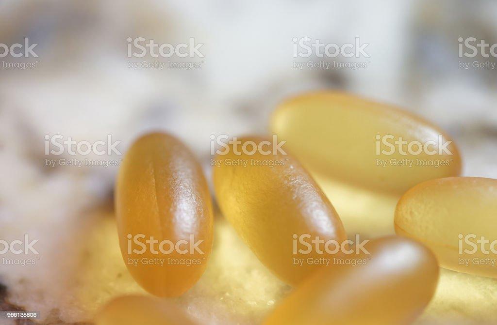 fish oil - Royalty-free Alimentação Saudável Foto de stock