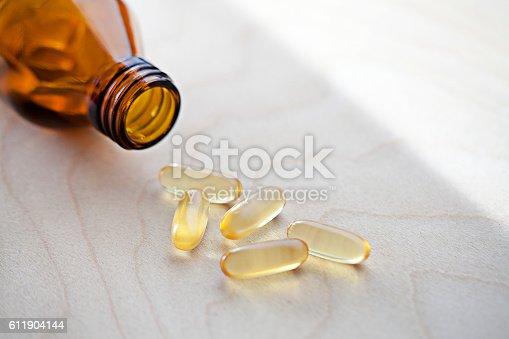 istock fish oil vitamin for healthy 611904144