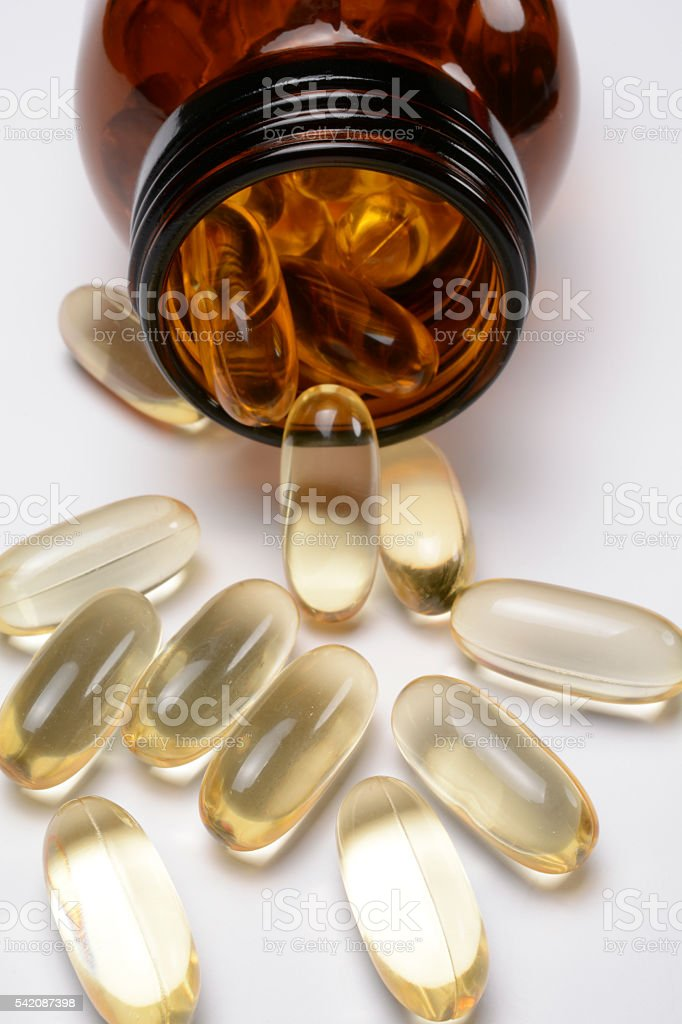 Fish Oil-2 stock photo