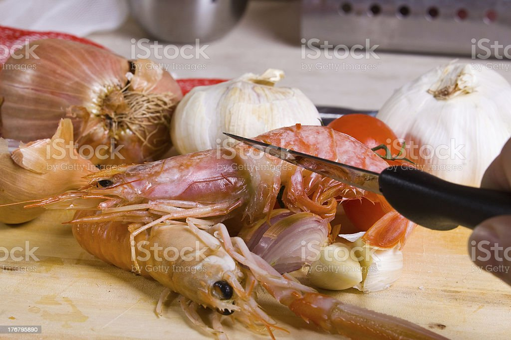 fish plate royalty-free stock photo