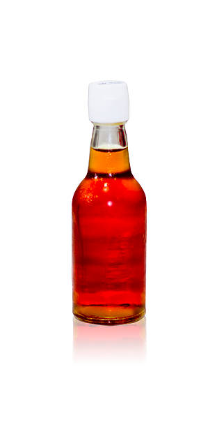 Fish sauce bottle stock photo