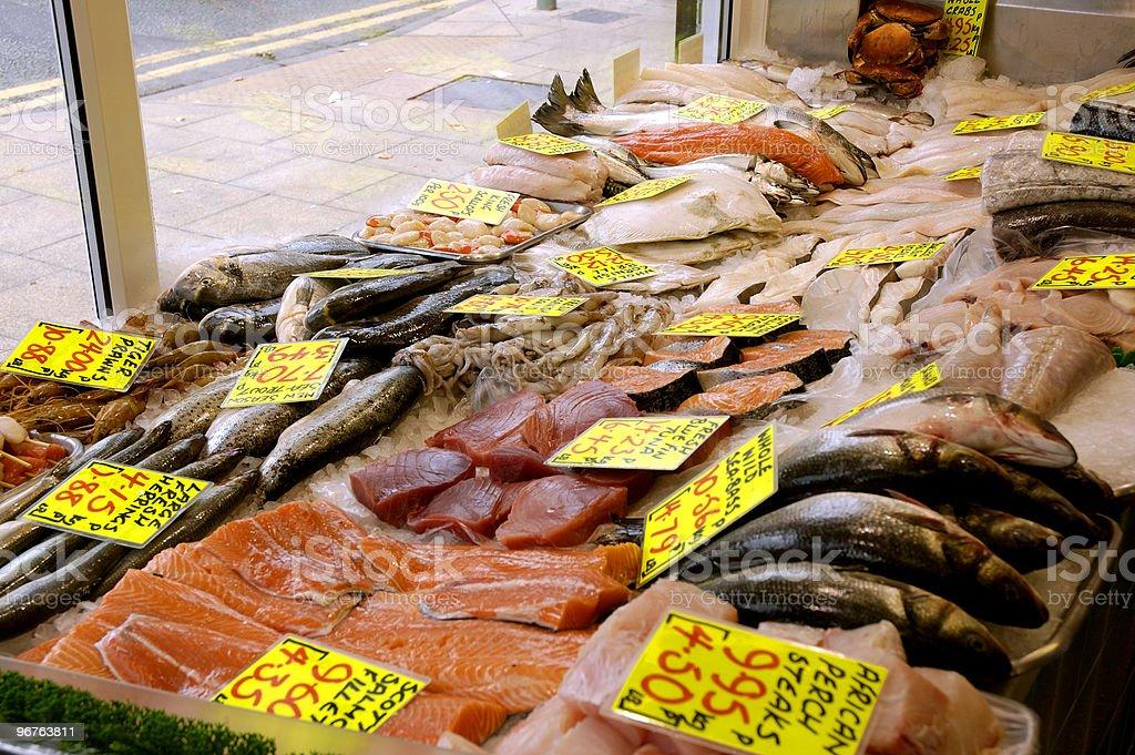 Fish Shop royalty-free stock photo