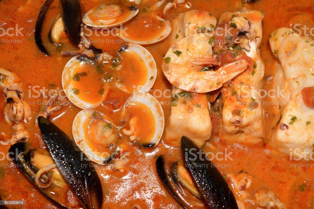 Fischsuppe  – Foto