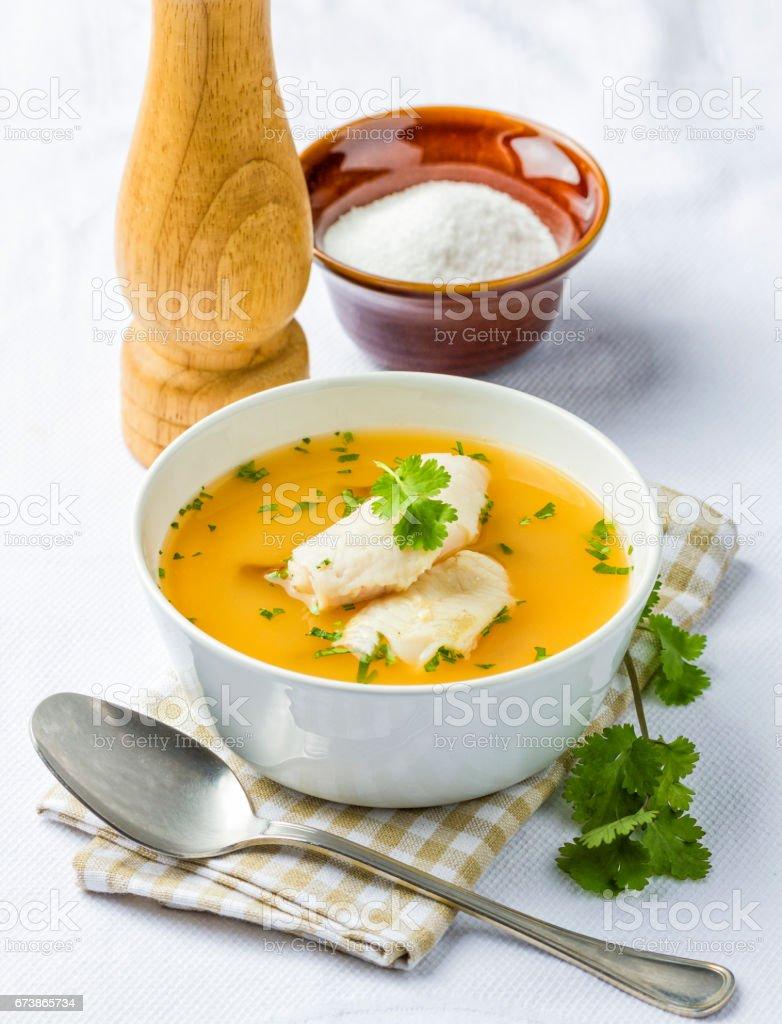 Balık çorbası royalty-free stock photo