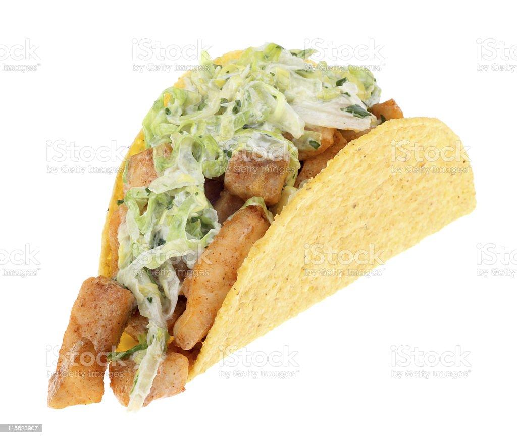 Fish Taco Isolated stock photo