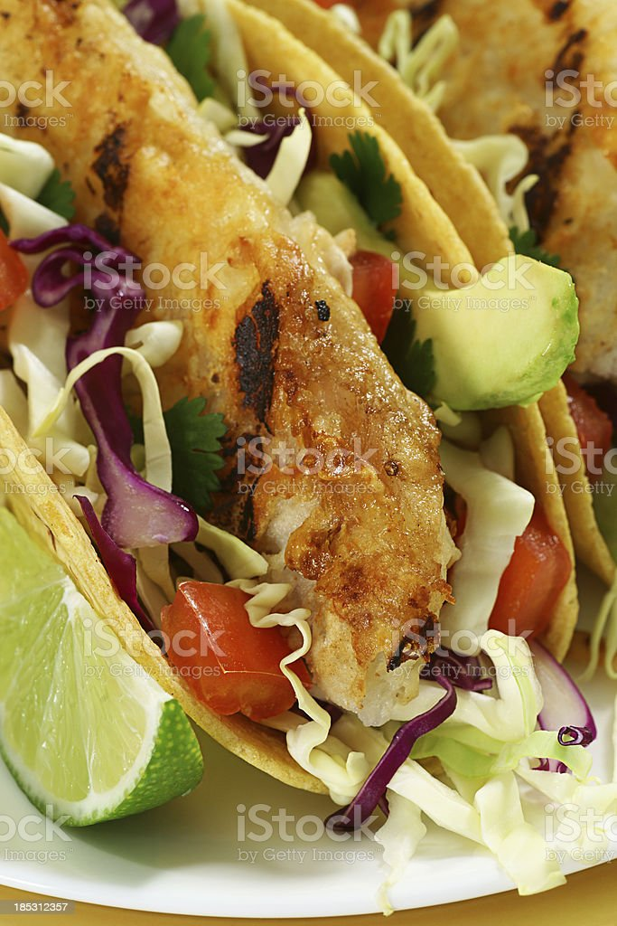 Fish Tacos royalty-free stock photo