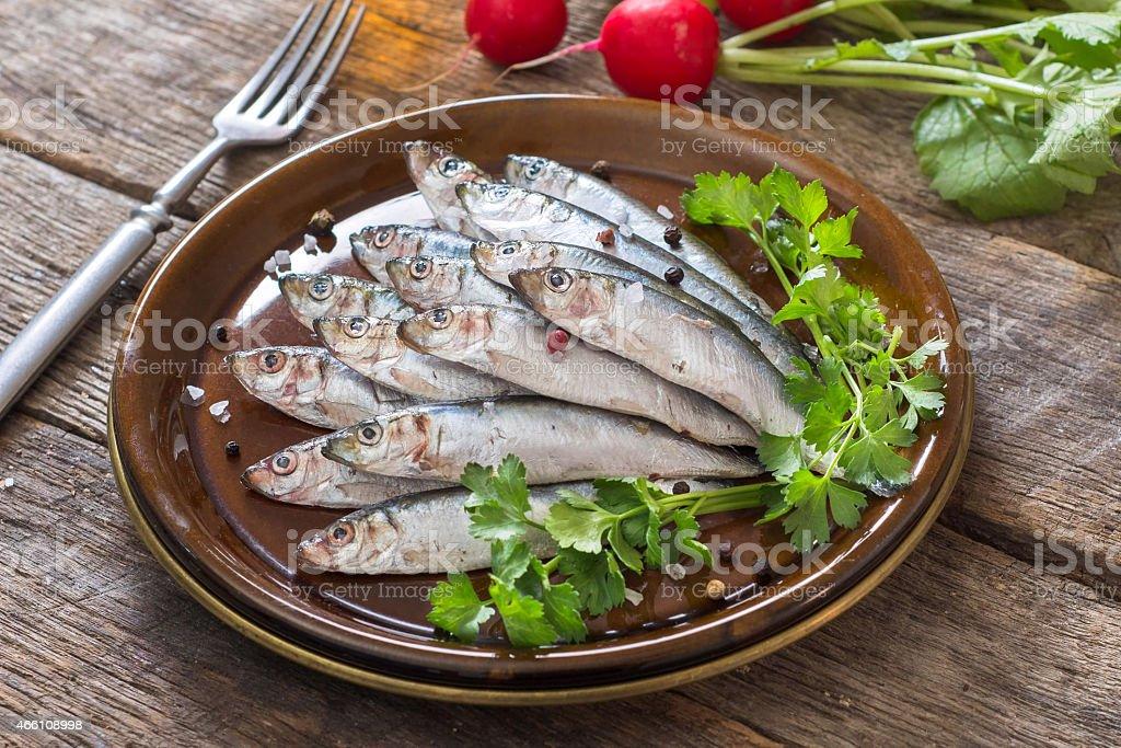 Fish time stock photo