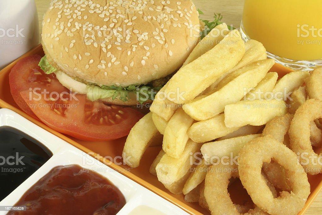 fishburger stock photo