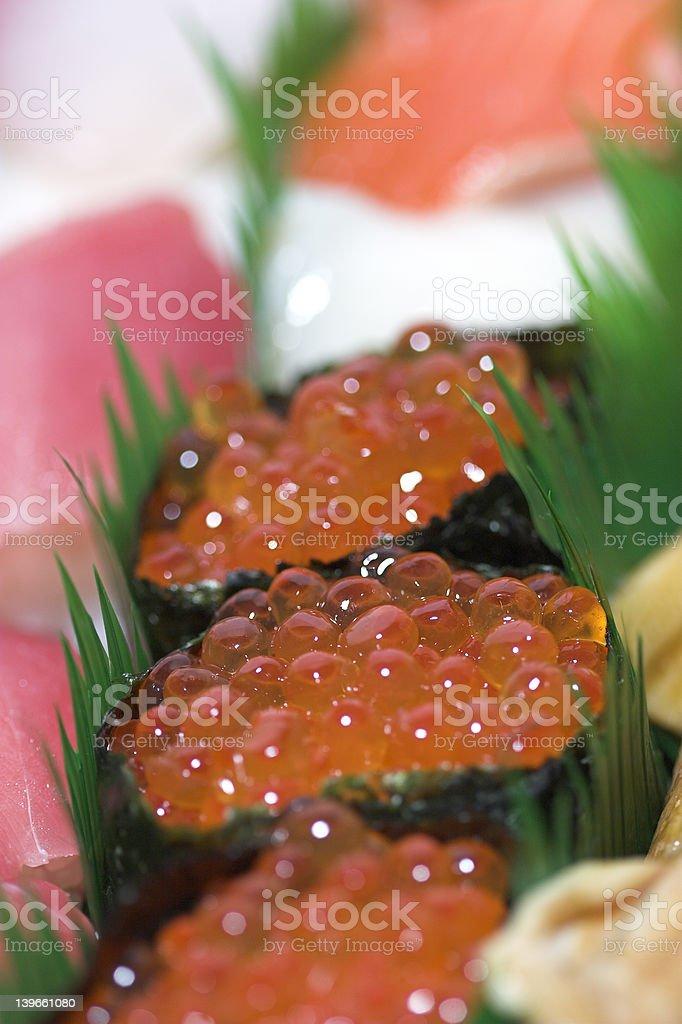 fisheggs royalty-free stock photo